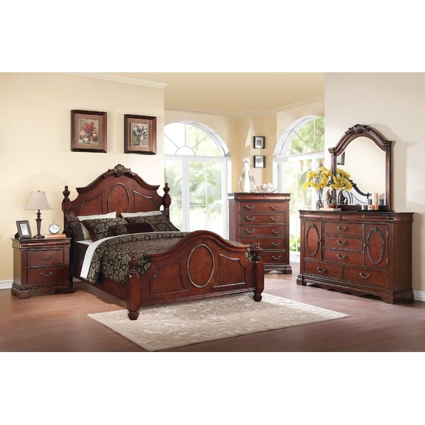 Eisenhauer Four Poster Bed by Astoria Grand