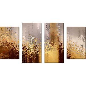 Refiners Fire by Mark Lawrence 4 Piece Painting Print on Wrapped Canvas Set by Picture Perfect International