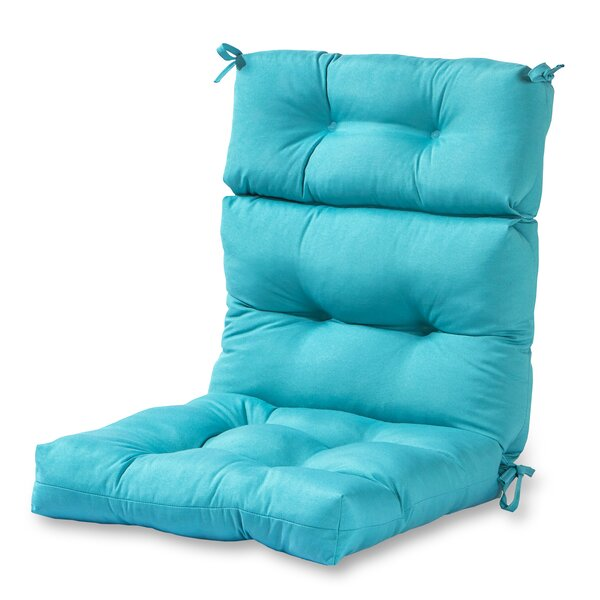 Sarver High Back Indoor/Outdoor Lounge Chair Cushion by Andover Mills