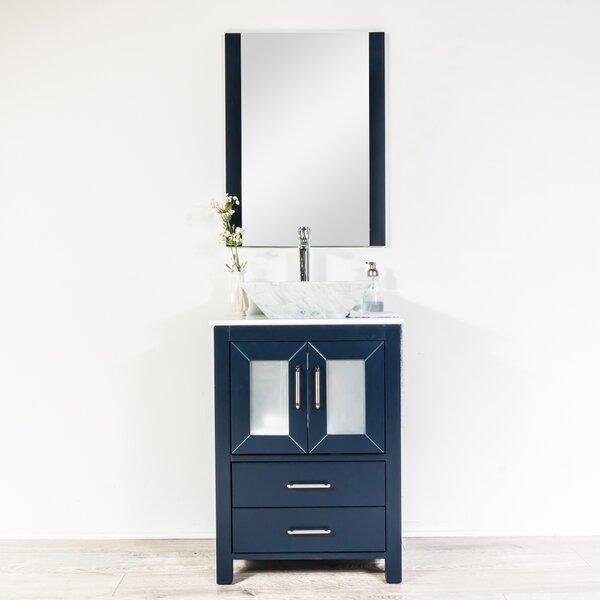 Leena 24 Single Bathroom Vanity Set with Mirror