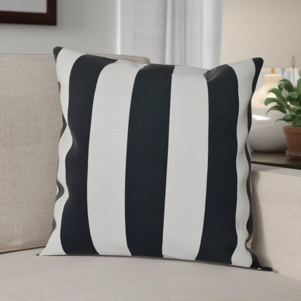 Classic Stripe Throw Pillow by The Holiday Aisle