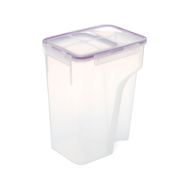 Single Jumbo Flip Top 184 Oz. Rectangular Food Storage Container by Rebrilliant