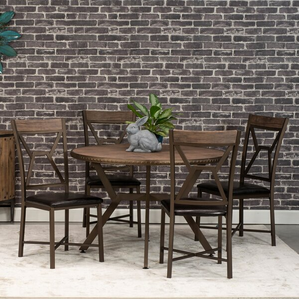Villar 5 Piece Dining Set by Williston Forge