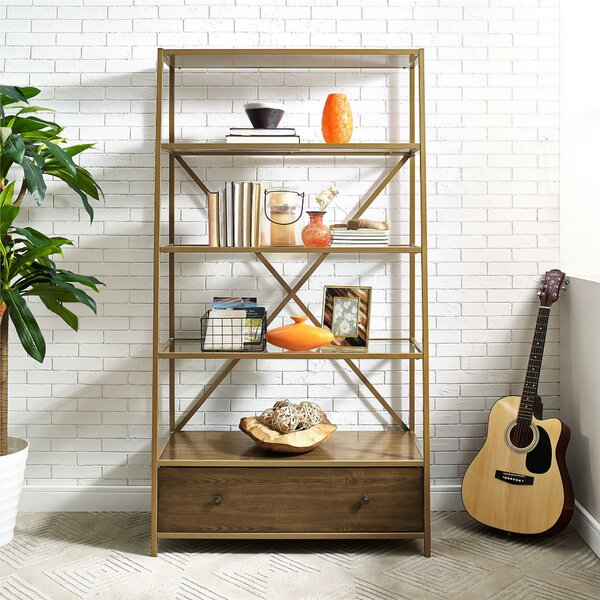 Selzer Pyramid Etagere Bookcase by Mercer41