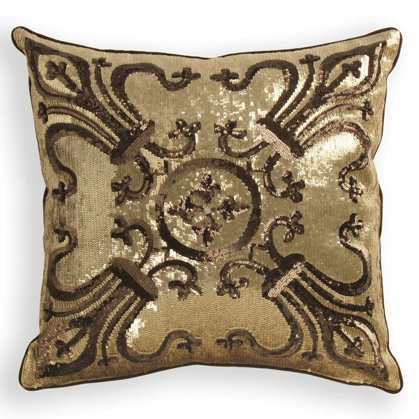 Rangeley Sequin Throw Pillow by House of Hampton