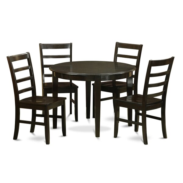 Modern  Hillhouse 5 Piece Dining Set By Red Barrel Studio 2019 Sale