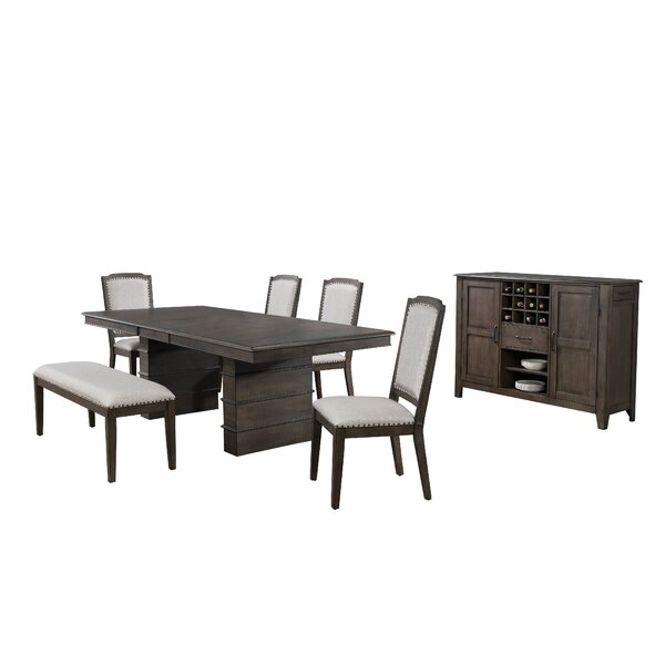 Seaver 7 Piece Extendable Dining Set by Gracie Oaks