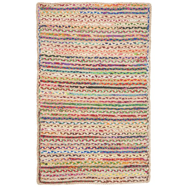 Arria Hand-Woven Natural Area Rug by Highland Dunes