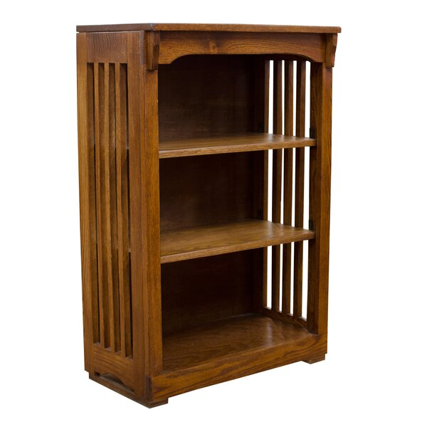 Sandusky High Mission Spindle Standard Bookcase By Millwood Pines