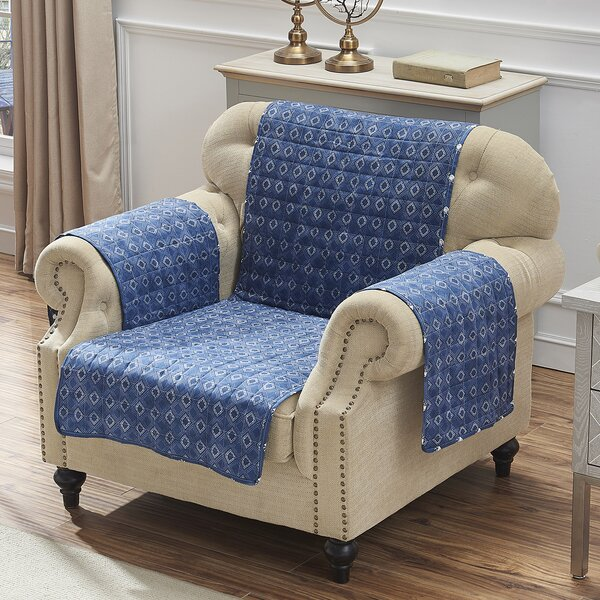 T-Cushion Armchair Slipcover By Bungalow Rose