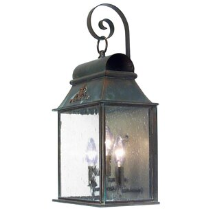 Find for Bastille 3-Light Outdoor Wall Lantern By 2nd Ave Design