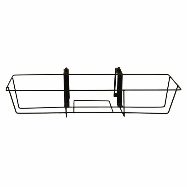 Tiana Adjustable Metal Black Window Box Planter by Gracie Oaks