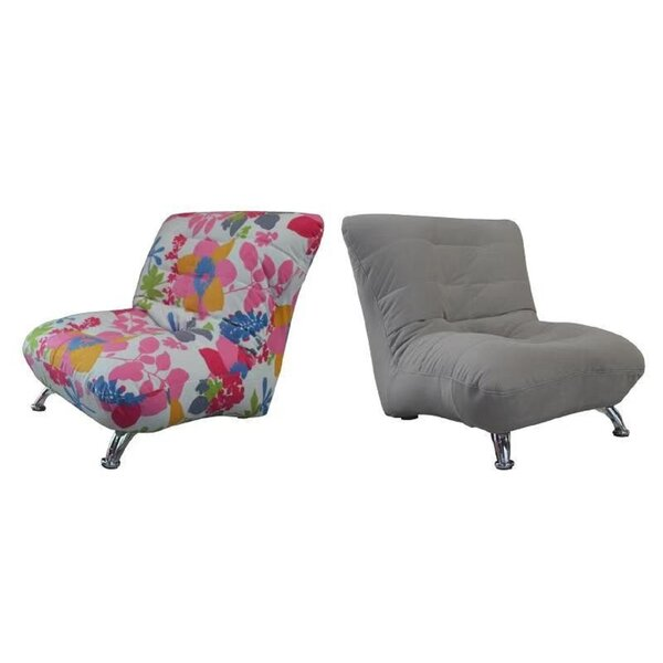 Armless Slipper Chair (Set Of 2) By Wrought Studio