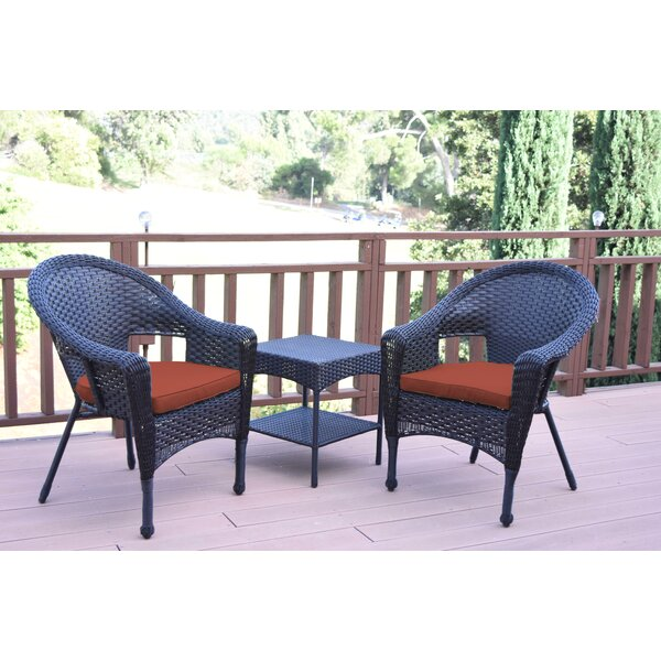 Laurens 3 Piece Seating Group with Cushions by August Grove