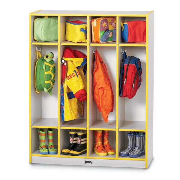 3 Tier 4 Wide Coat Locker by Jonti-Craft