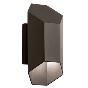Compare & Buy Cyrano 1-Light Outdoor Sconce By Orren Ellis