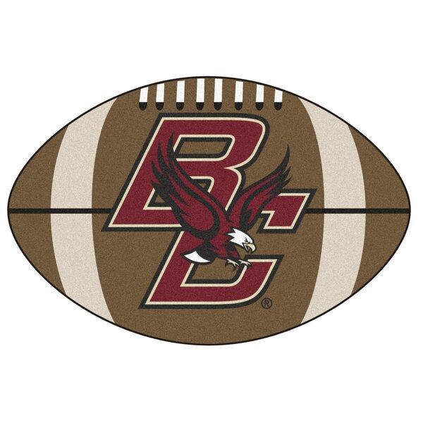 NCAA Boston NCAAlege Football Doormat by FANMATS