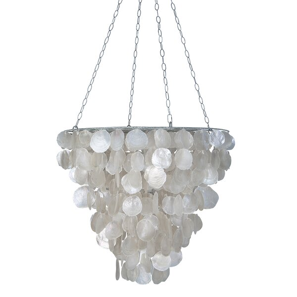 Maryanne Tapered 2-Light Unique / Statement Tiered Chandelier by Bay Isle Home Bay Isle Home