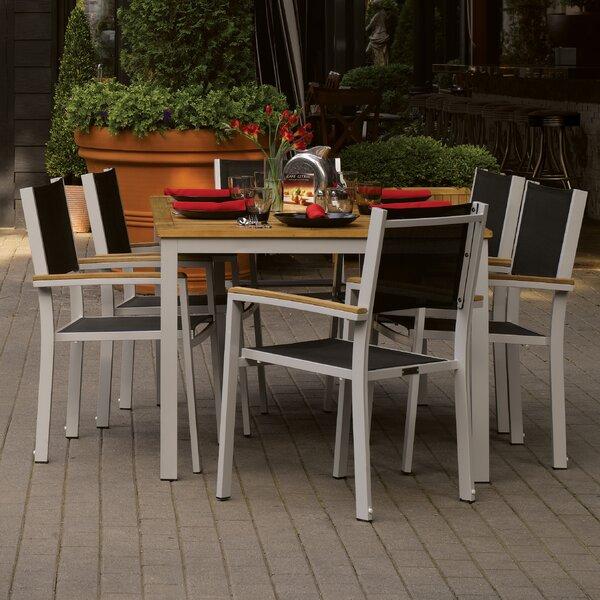 Travira 7 Piece Teak Dining Set by Oxford Garden
