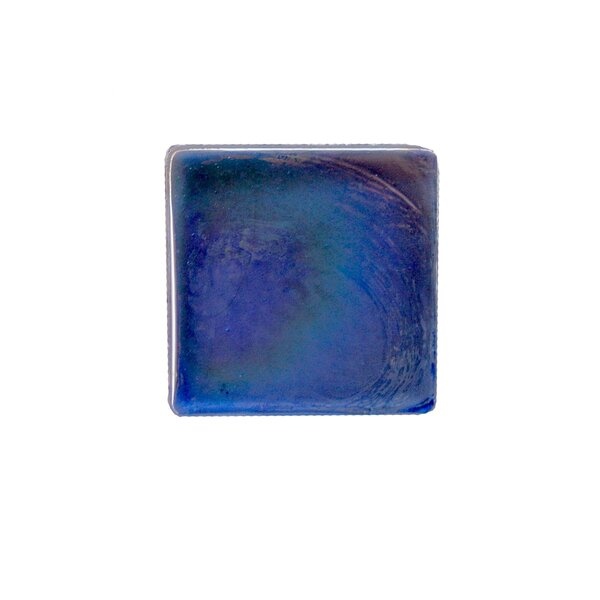 Atmosphere 2 x 2 Glass Mosaic Tile in Blue by Abolos