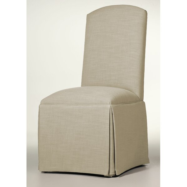 Lamoille Traditional Skirted Upholstered Dining Chair by Darby Home Co