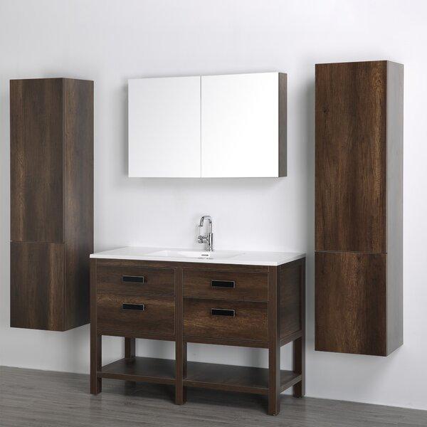 47 Single Bathroom Vanity Set with Mirror