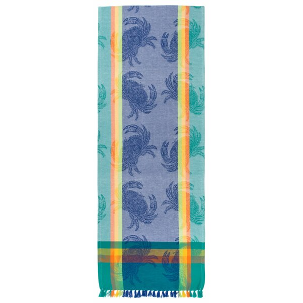 Trinidad Crab Table Runner (Set of 2) by Rosecliff Heights