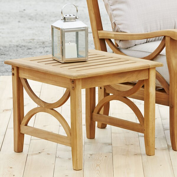 Brunswick Teak Side Table by Birch Lane™