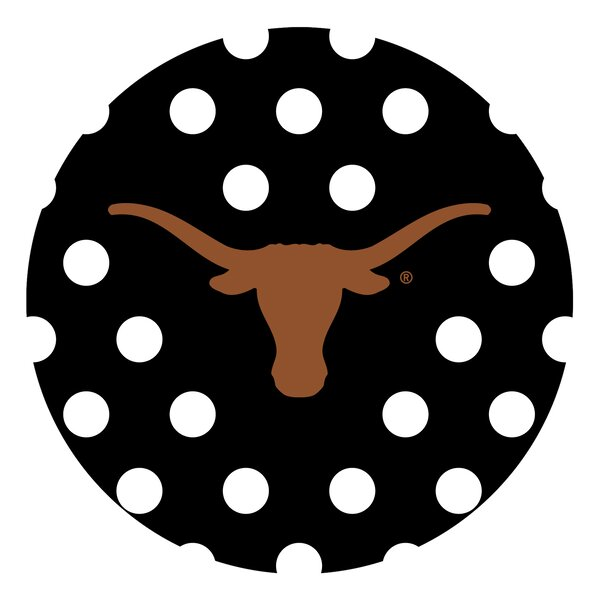 University of Texas Dots Collegiate Coaster (Set of 4) by Thirstystone