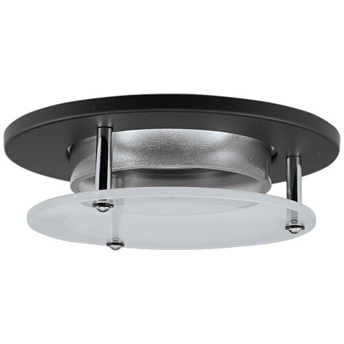 Suspended Glass Lens 3 LED Recessed Trim by Elco Lighting
