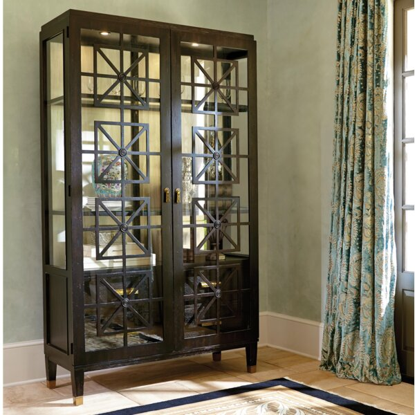 Cachet Catalina Lighted Curio Cabinet by Fine Furniture Design