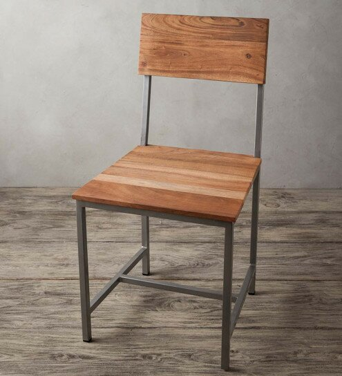 Tipps Solid Wood Dining Chair by Union Rustic