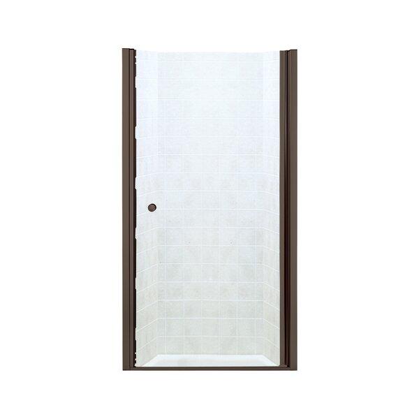 Finesse 35.25'' x 65.5'' Pivot Frameless Shower Door by Sterling by Kohler