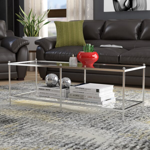 Rigsby Coffee Table with Storage by Orren Ellis