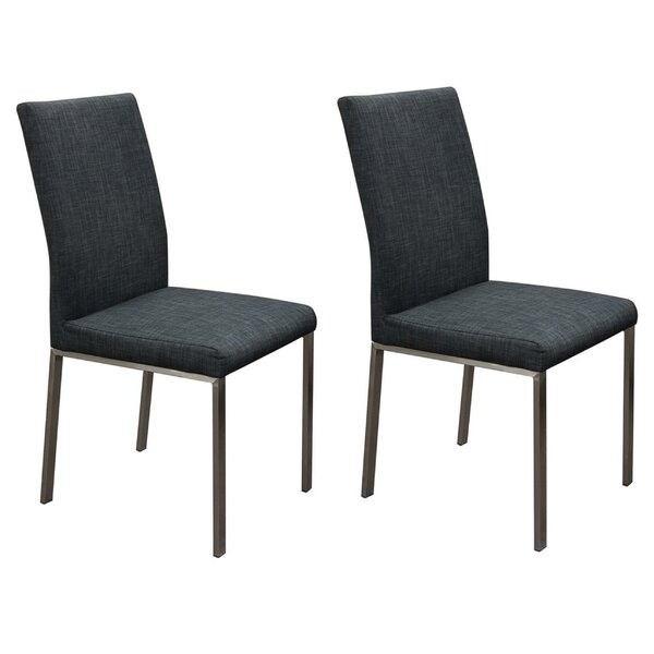 Jamiya Upholstered Dining Chair (Set of 2) by Orren Ellis