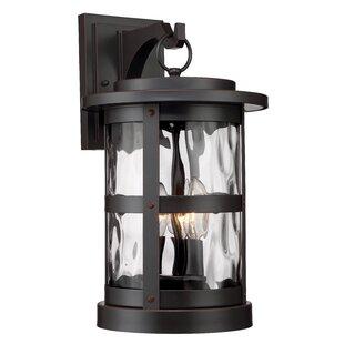 Best Deals Terraze 3-Light Outdoor Wall Lantern By Designers Fountain