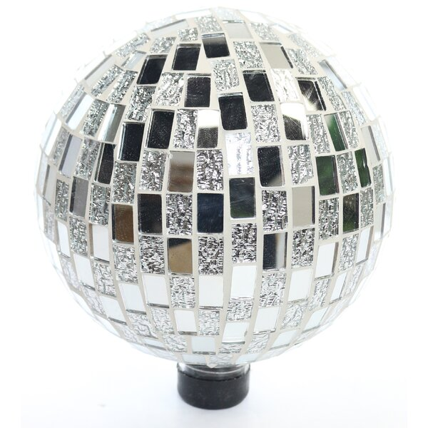 Mosaic Gazing Globe by Benzara