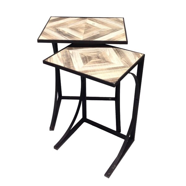 Lumberton 2 Piece Nesting Tables By Wilco Home