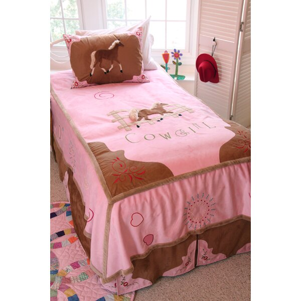 Jerald Cowgirl Kids Full Bed in Bag Collection