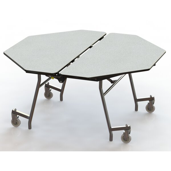 60 Octagon Cafeteria Table by National Public Seat