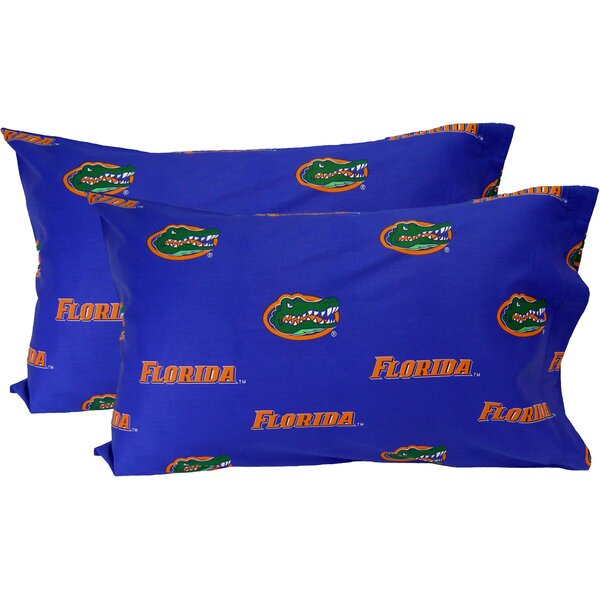 Collegiate NCAA Florida Gators Pillowcase (Set of 2) by College Covers