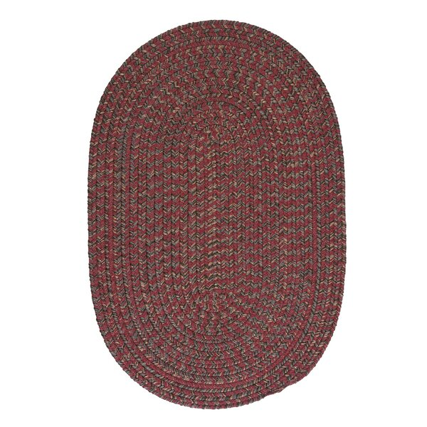 Abey Berry Red Area Rug by Loon Peak