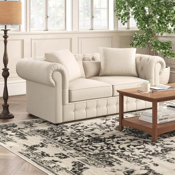 Get Great Calila Chesterfield Loveseat by Birch Lane Heritage by Birch Lane�� Heritage