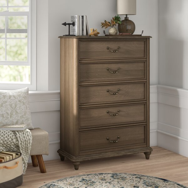 Calila 5 Drawer Chest by Foundry Select