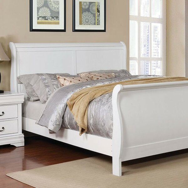 Auguste Sleigh Bed by Canora Grey