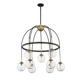Order Yorba 9-Light Shaded Chandelier By Corrigan Studio