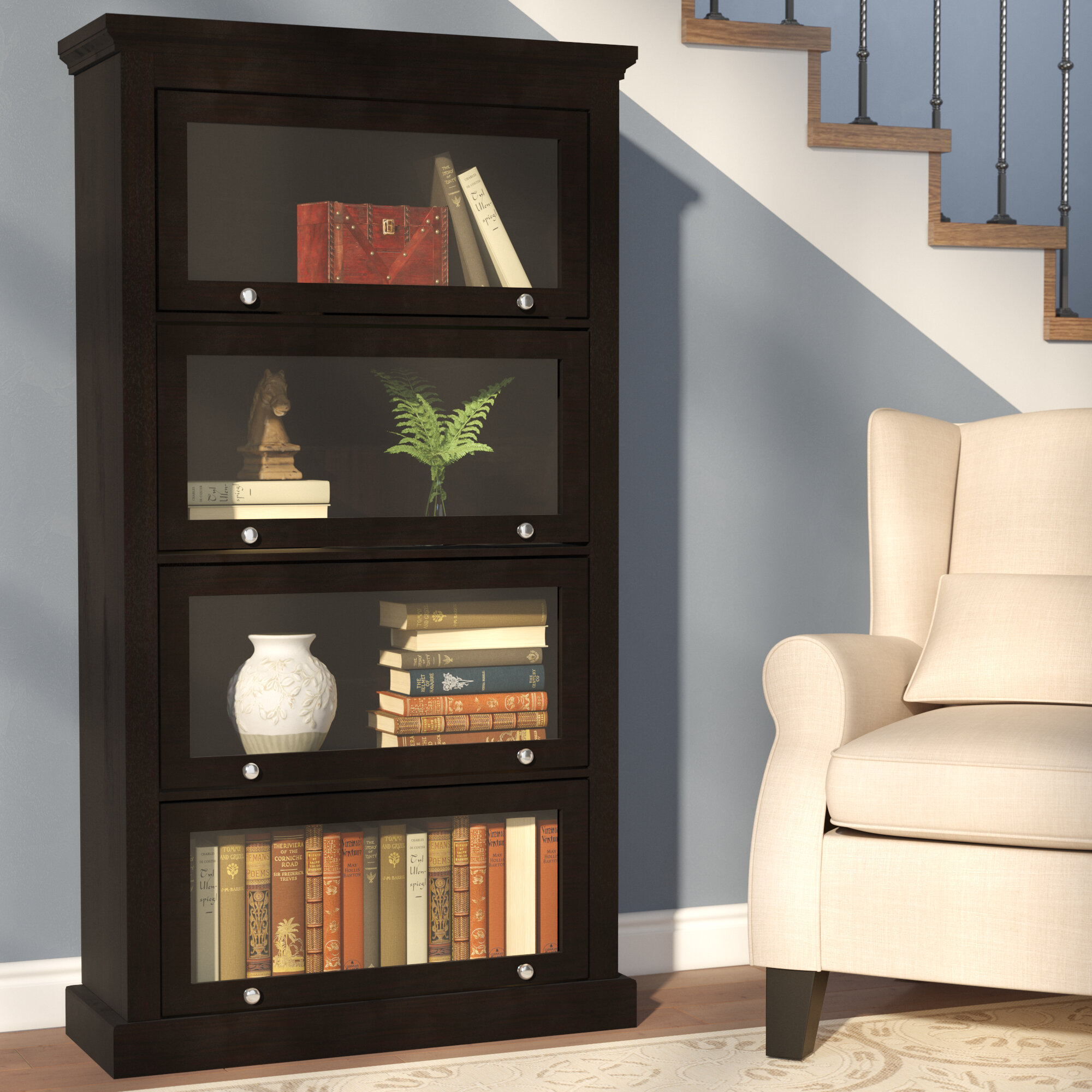 mart lane in detailspage furniture oak nebraska bookcase barrister awesome salt