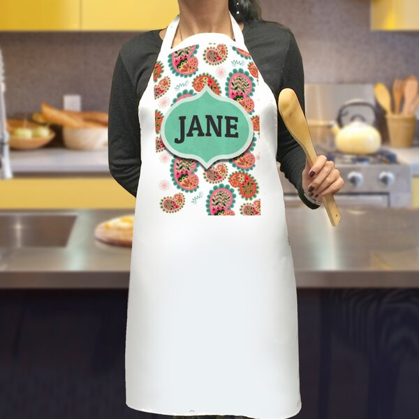Personalized Paisley Design Apron by Monogramonline Inc.