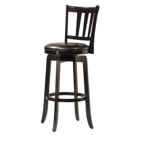 Malcolm 25.5 Swivel Bar Stool by Darby Home Co