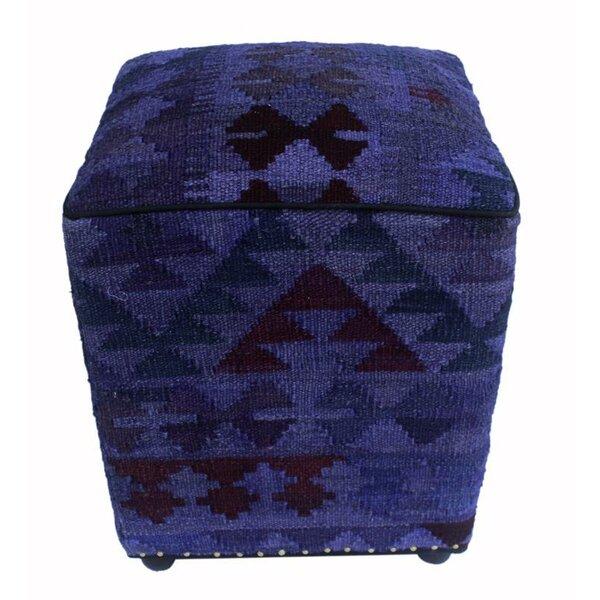 Brantner Kilim Cube Ottoman by Union Rustic